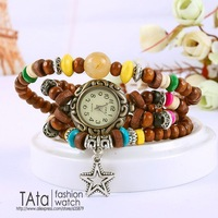 New Arrivals Vintage Watches,Stretch Bracelet Beaded Watches,Fashion Women Watches,100% Excellent Quality