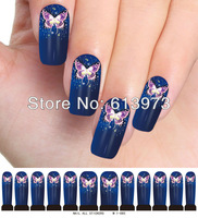 M1-085,10Sheets New Latest  10styles available trendy nail art wraps water sticker foils cover decals glitter decoration