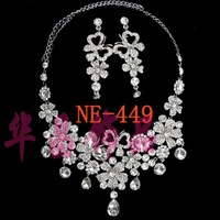 Quality alloy necklace huachang accessories the bride wedding dress formal dress necklace fashion ne-449