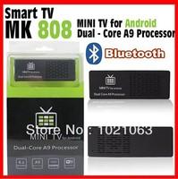 Smart TV MK808 Google Android 4.1 Mini PC RK3066 1.6GHz Dual Core 1GB/8GB WiFi HDMI Online TV Box