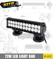 "NEW HT-3272-72W 12"" 2 rows LED light bar"