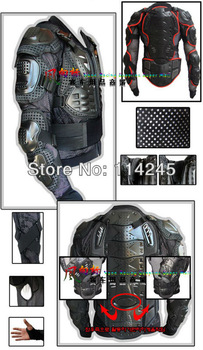Motorcycle Racing Rider Body Armor Jacket Guard Protection M/L/XL/XXL/XXXL  Motorcycle protective equipment