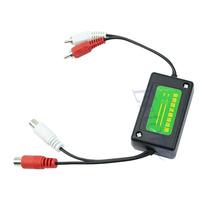D193.5mm Car RCA Amplifier Audio Noise Filter Ground Loop Isolator Suppressor
