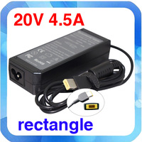 HOT  sell new model laptop adapter 20V4.5A for lenovo  free shipping