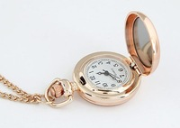 SALE!designer watches women fashion vintage fashion pocket watch gold plated christmas gifts dress watch new 2013 free shipping