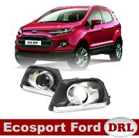 Daytime Running Light For Ecosport Ford DRL LED Daylight Auto Car DRL Fog Lamp Free HK Post