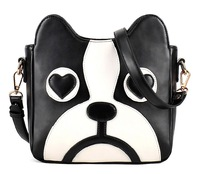 animal shape lovely dog 2013 cartoon bag messenger bag shoulder bag handbag women's bag free shipping