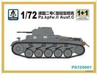 S-model PS720001 1/72 Pz.kpfw.II Ausf.C