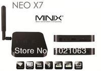 MINIX NEO X7 andriod 4.2.2 Rockchip RK3188 Quad Core Cortex A9 1.6GHz TV BOX 2G/16G BT wifi External antenna Bluetooth