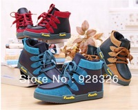 Retailing Fashion Children Boy Waterproof Windproof PU Snow Boots Kids Winter Shoes Boy's Boot Size : 27-37