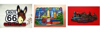 WHOLESALE World Tourism Memorial Souvenir  City Fridge Magnetic Handmade for Collectors