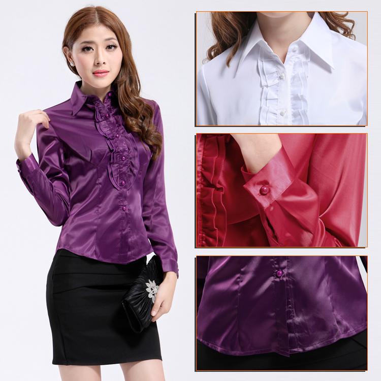 Блузка Шелковая Женская Купить