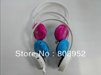 After hanging card mp3 headset  V7(Card mp3 + FM + computer headset)