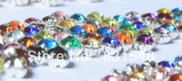 DIY accessories 8mm hand sewn acrylic diamond cross colorful acrylic claw drill free shipping