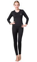 New Arrival Women's Outdoor sport thermal underwear Hot-Dry technology surface N828