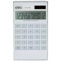 Free  shipping Lackadaisical 1256 calculator dual power large screen calculator ultra-thin fashion  free   shipping