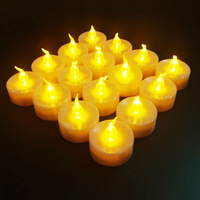 Shipping Free!  Cheap!!! +Christmas LED Plastic Candle+Flamles Pillar Candle+Battery Operate Candle New Peoduct 2014