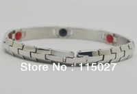 Japan Germanium Bio Energy Stainless Steel Bracelet  popular jewelry specialty bracelet good quality sport band anion bracelet