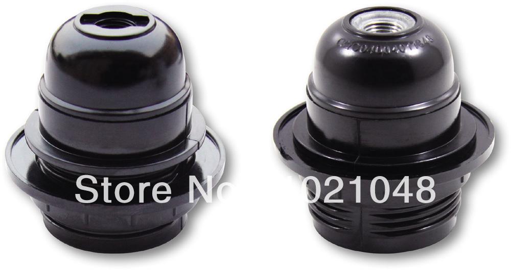 E27 BAKELITE LAMP HOLDER E27 HALF THREADED BODY BAKELITE LAMPHOLDER(China (Mainland))