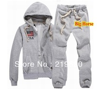 NEW Discount Men's polo Tracksuits with Big Horse Winter Casual Wear Fashion Shorts Tracksuit Hoodies Coats Pants Jackets