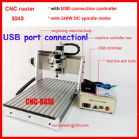 New upgrade USB port connection 3040  cnc router   cnc engraver cnc engraving milling and drilling machine