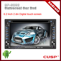 Android CP-6202  car touch screen with dvd,radio,audio,bluetooth,TV,RDS,SD,3G,USB,wifi,Ipod,PIP MAP(option) for Universal Car