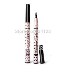 Hot selling Black New Cosmetics Makeup Not Dizzy Waterproof Liquid Eyeliner Pencil f014(China (Mainland))