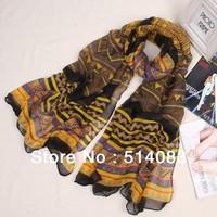 2013 New designer hmong scarves Fashion Women Scarves Long Voile Tribal Aztec Scarf Swap Shawl Muslim Hijab monroe 180*92 cm