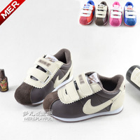 13 autumn and winter genuine leather children shoes boys shoes female baby child parent-child shoes sports shoes casual shoes
