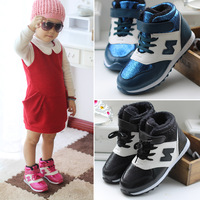 2013 shoes girls boys shoes ankle boots child cotton-padded shoes autumn baby casual shoes child sport shoes