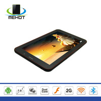 T70G 7 inch capacitive touch screen MTK 8312 Dual core Dual Sim Android 4.2 Bluetooth 3G tablet pc