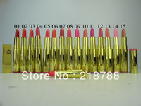 Free Shipping 15pcs/Lot 2013 Newest Make up Lipstick Brand DI New style Lipstick 15 Colors Full size