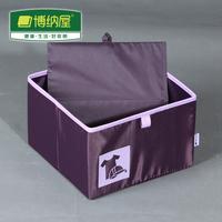 2014 Real Top Fasion Freeshipping Boehner Oxford Flapless Violet Storage Box Drawer Finishing