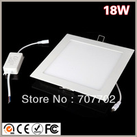 LED Ceiling Panel lights 18W 1600LM AC100-240V 4Pieces