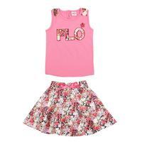 FREE SHIPPING NH4056# 18m/6y NOVA kids wear girl clothing Tshirt and mini dress girl sets