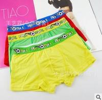 The new pure color modal boy boxer briefs modal breathable super soft boy underwear wholesale