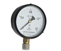 Free shipping Water Oil Hydraulic Air Pressure Gauge Universal GaugeM20*1.5 100mm Dia 0-1.6Mpa