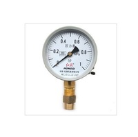 "Free shipping Water Oil Hydraulic Air Pressure Gauge M20*1.5 with 1/2"" BSPP Adapter 0-1Mpa"