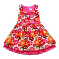 FREE SHIPPING H4061# Nova 2/8y kids wear clothing printing  2013 new sleeveless dress for baby girls
