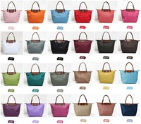 FreeShipping Hot 2013 new boiled dumplings / candy colored nylon tote bag
