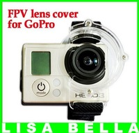 GoPro FPV Lens and BacPac Protector Stabilizer for Hero Hero2 Hero3 Hero3+, Free Shipping