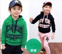 Free shipping 2013 New Letters sport suit leisure suit children hz9D40