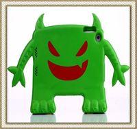 Littile Devil Design Shockproof Case Children Kids Protective Thick Foam EVA Cover Stand For iPad Mini Free Shipping