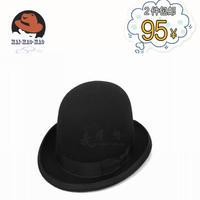 100% Woo; Fedora,High-End wool Felt Fedora Pure wool derby vintage dome fedoras dance jazz hat
