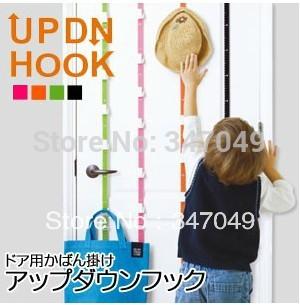 Newest! (2pcs/box) Adjustable Bag Rack With 16pcs UPDN Up & Down Hook,Hat/Purse/Handbag Rack Organizer China Post Free Shipping(China (Mainland))