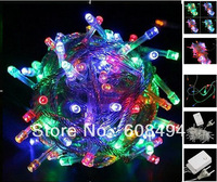 30M 300 LED Fairy Party Wedding Christmas String Light Garland Xmas decoration 8 sparkling modes 220V EU Mixed color colorful
