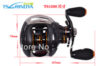 Free shipping  Trulinoya TS1200  Bait  Casting fishing reel  Right  hand  Black 13+1BB  Gear Ratio: 6.3:1