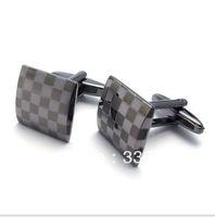 CU1122051 silver black Copper alloy cufflinks men's shirt cuff cufflinks French shirt gentleman business cuff links Italy design