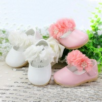 New 2014 1Pair Baby Shoes Newborn First Walkers Toddler Girl Shoes Princess Infant Grace shoes Baby Girl Leather Shoes For Party