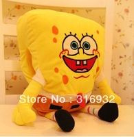 J5  Warm soft SpongeBob Sponge Bob plush hand warmer plush toy, 1pc, make you warm in this winter